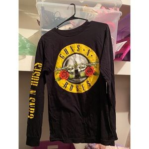 🖤Black Guns N Roses shirt